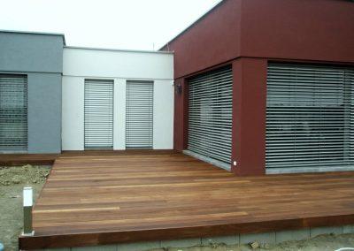 Bangkirai drevená terasa