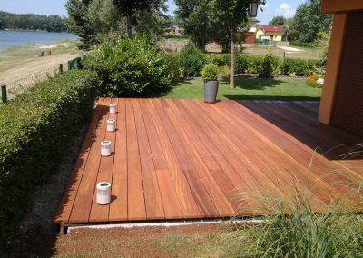 Drevená terasa - Tali