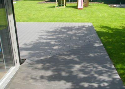 Drevoplastová terasa