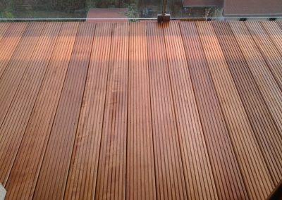 Farebnosť dreva bangkirai