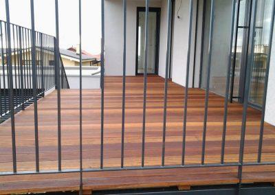 Farebnosť drevenej terasy