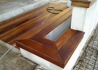 Montáž terasy