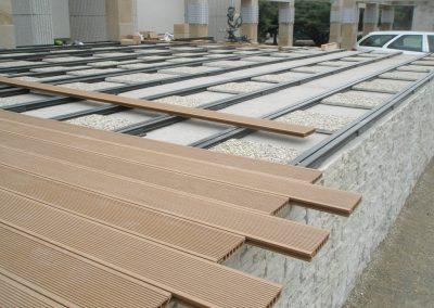 WPC terasa montáž
